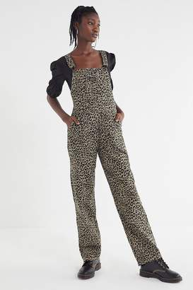 Obey Casbah Animal Print Overall
