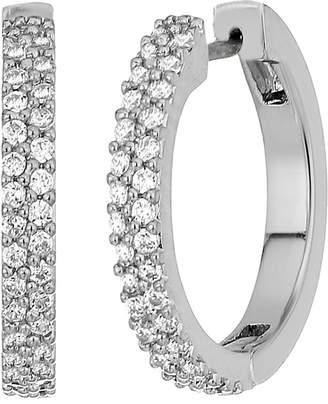 Kate Spade Save The Date Pave Huggie Earrings
