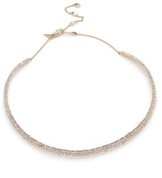Alexis Bittar Spike Accented Choker Necklace