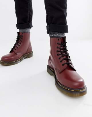 Dr. Martens (ドクターマーチン) - Dr Martens original 8-eye boots in red 11822600