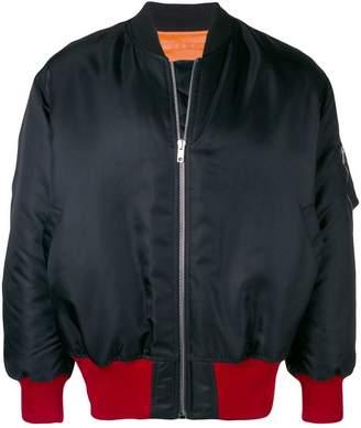 Calvin Klein full-zipped bomber jacket