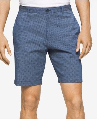 "Calvin Klein Men's Stripe Slim-Fit ""9 Shorts $69.50 thestylecure.com"