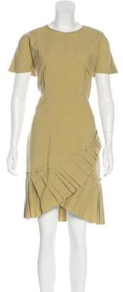 Isabel Marant Pleated Knee-Length Dress Pleated Knee-Length Dress