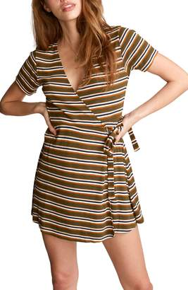 RVCA Slater Mini Wrapdress