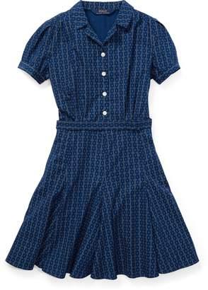 Ralph Lauren Print Cotton Poplin Dress