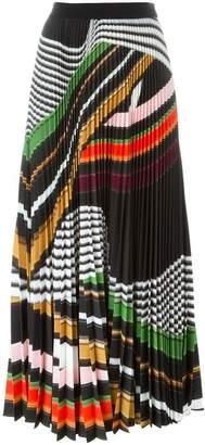 Mary Katrantzou 'Pelar' pleated maxi skirt