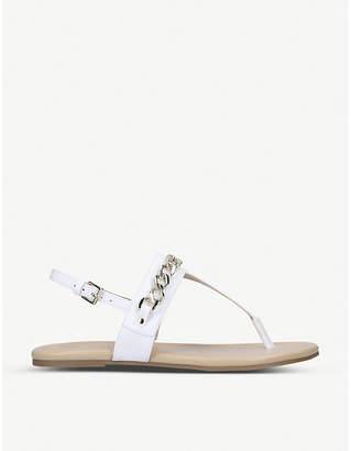 Nine West Bristol faux-leather sandals