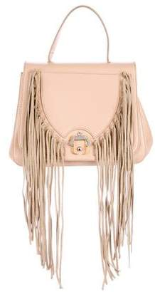 Paula Cademartori Fringe-Accented Leather Satchel