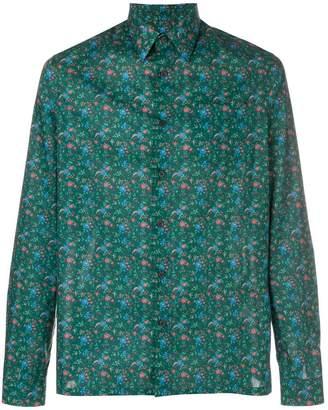 Prada floral printed shirt