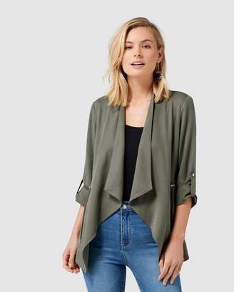 Forever New Carole Waterfall Jacket