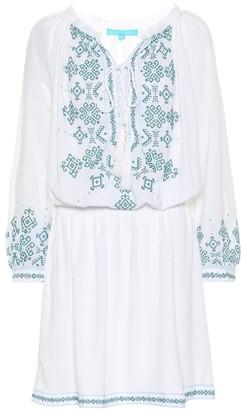 Melissa Odabash Nadja embroidered minidress