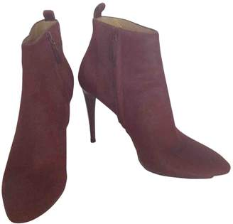 Balenciaga Burgundy Other Ankle boots