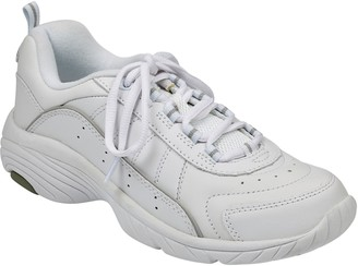 Easy Spirit Lace Up Leather Athletic Sneakers -Punter