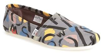 Toms Abstract Classic Slip-On Flat