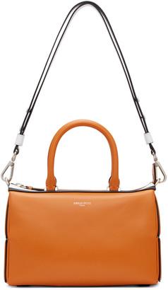 Emilio Pucci Orange Classic Shoulder Bag $1,985 thestylecure.com