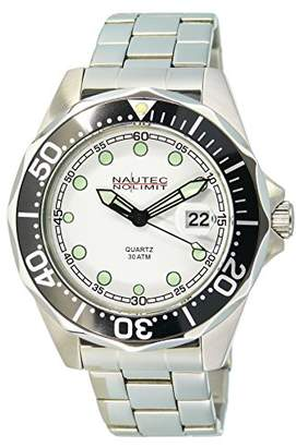 17011f99113 at Amazon.co.uk · Nautec No Limit Men's Watch XL Deep Sea Bravo Analogue  Quartz Stainless Steel DSB QZ/