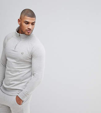 Le Breve TALL Half Zip Sweatshirt
