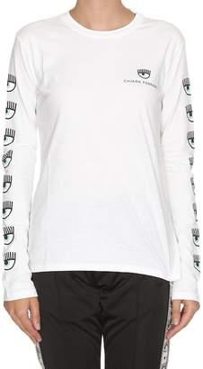 Chiara Ferragni Logo Mania Long-sleeve T-shirt