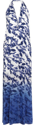 Vix Marlin Ella Printed Crepe Dress $196 thestylecure.com