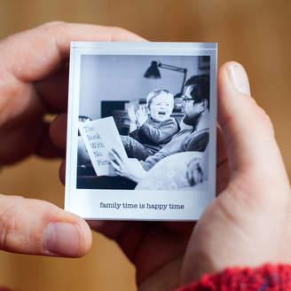 a.musing Mini Personalised Photo Acrylic Block