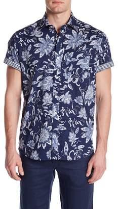 Ganesh Cotton Cactus Short Sleeve Shirt