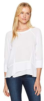 Wilt Women's Baby Peplum Sweat Tee