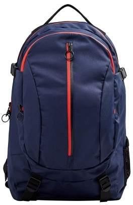 Mango man MANGO MAN Water resistant zips backpack