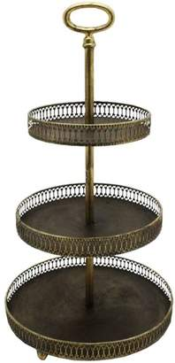 Round Lustre Trellis Stand