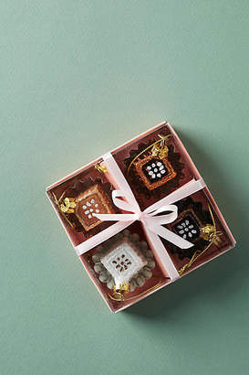 Anthropologie Chocolate Box Ornaments, Set of 4