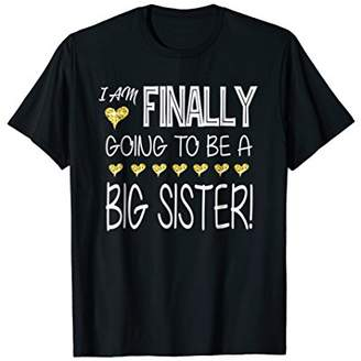 I am finally going to be a big sister | Big sister shirt