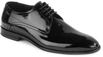 HUGO Dresspat Patent Leather Derby Shoes