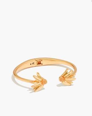 Madewell Fallen Petals Cuff Bracelet