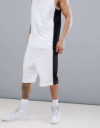 Asos 4505 Basketball Shorts With Cut & Sew