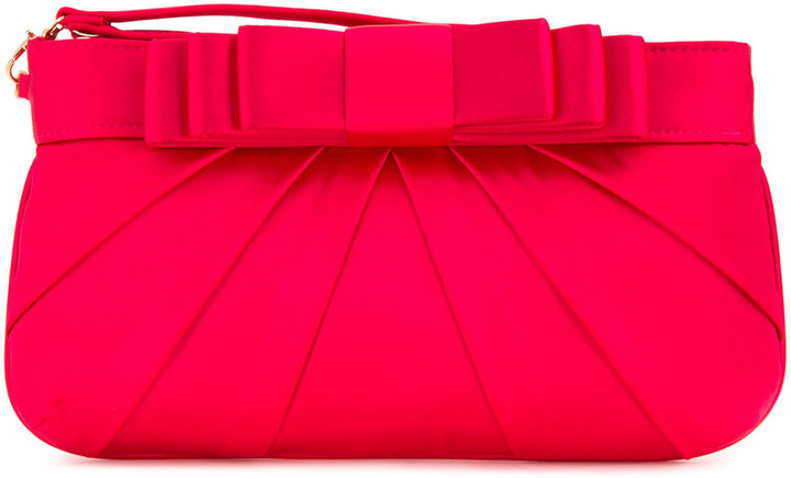 Love Moschino Love Moschino bow clutch bag