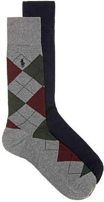 Polo Ralph Lauren Argyle Dress Socks - 2 Pack - Men's