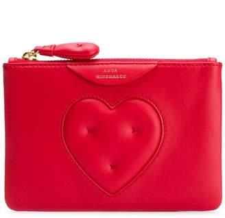 Anya Hindmarch Chubby Heart zipped card case