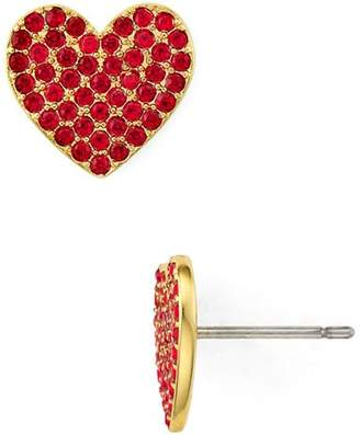 Kate Spade Pavé Heart Stud Earrings