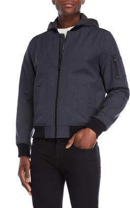 Levi's Hooded Soft Shell Bomber Jacket