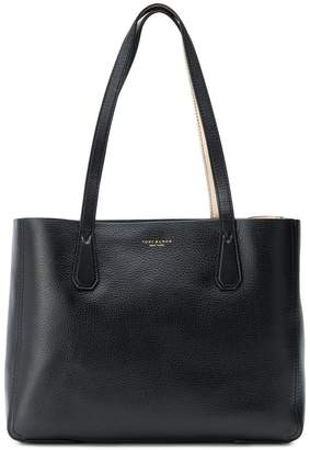 Tory Burch phoebe metallic mini tote