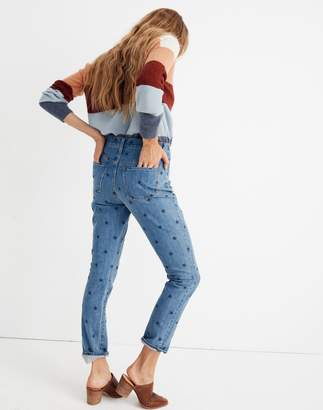 Madewell The High-Rise Slim Boyjean in Starry Night