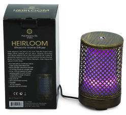 Heirloom Led Ultrasonic Essential Oil Diffuser