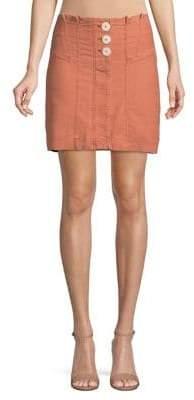 Free People Every Minute Every Hour Mini Skirt