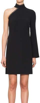 Shoshanna Thayer Asymmetric Dress