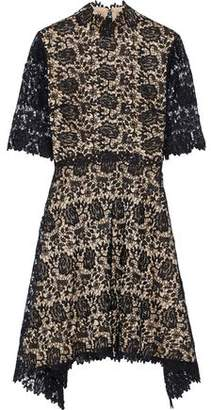 Catherine Deane Jeanne Metallic Guipure Lace Dress