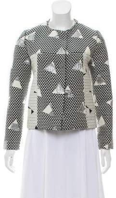 Amelia Toro Jacquard Metallic Jacket