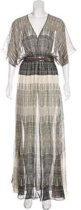 Jenni Kayne Silk Maxi Dress