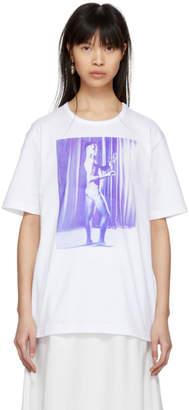Wales Bonner White Carl Van Vechten Print T-Shirt