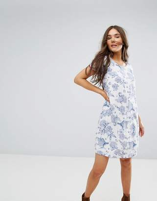 Traffic People Floral Shift Dress