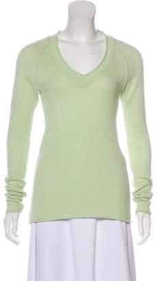 Calypso Cashmere V-Neck Sweater