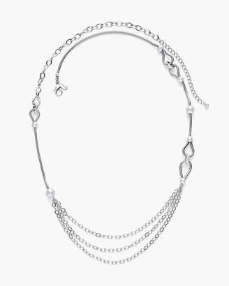 Silver-Tone Chain Necklace